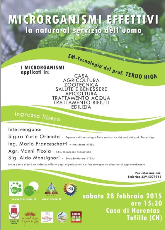 Confengno a Tufillo (Chieti) sabato 28 febbraio 2015