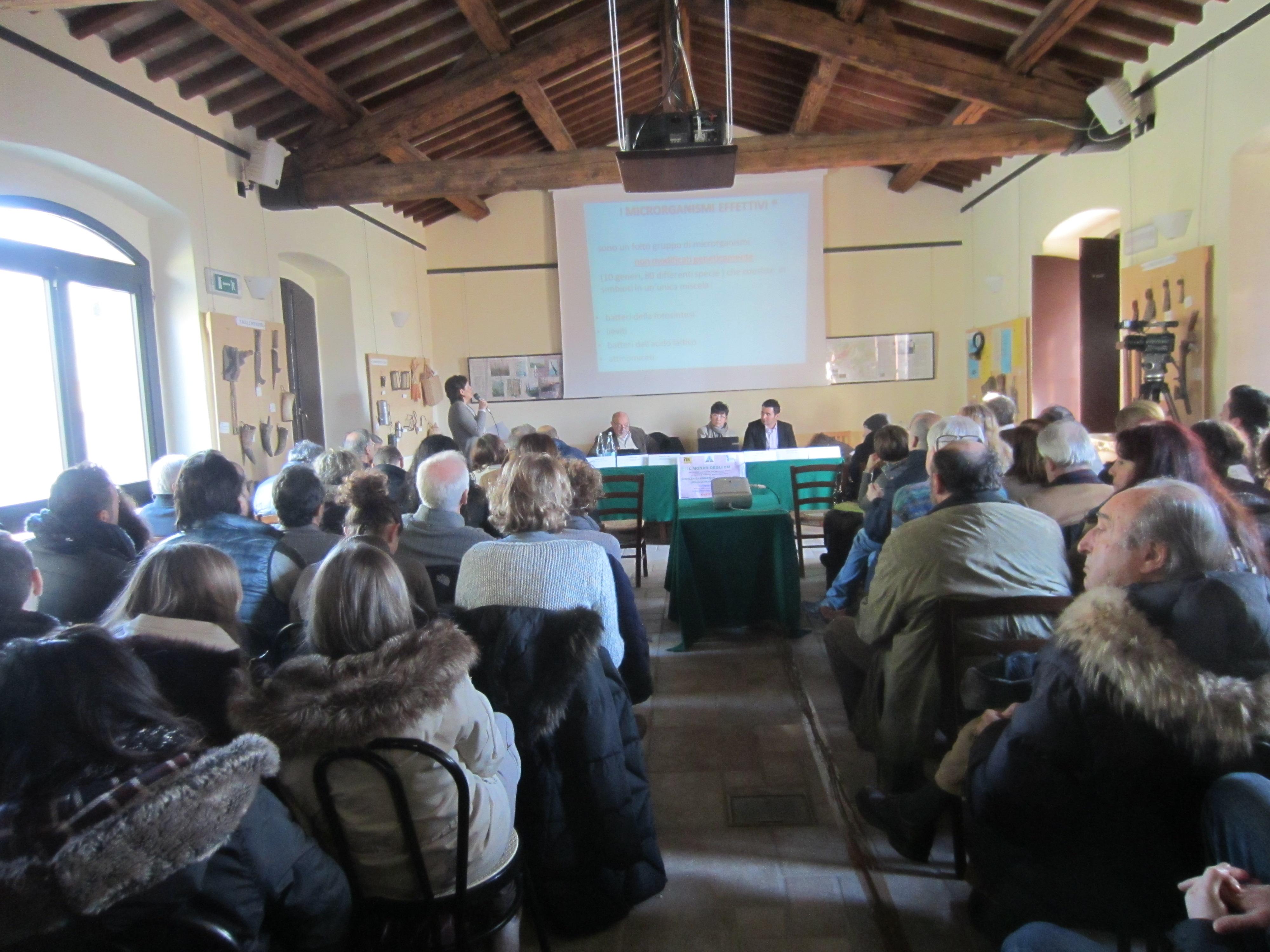 Foto convengo Villa Fassia, 7 febbraio 2014
